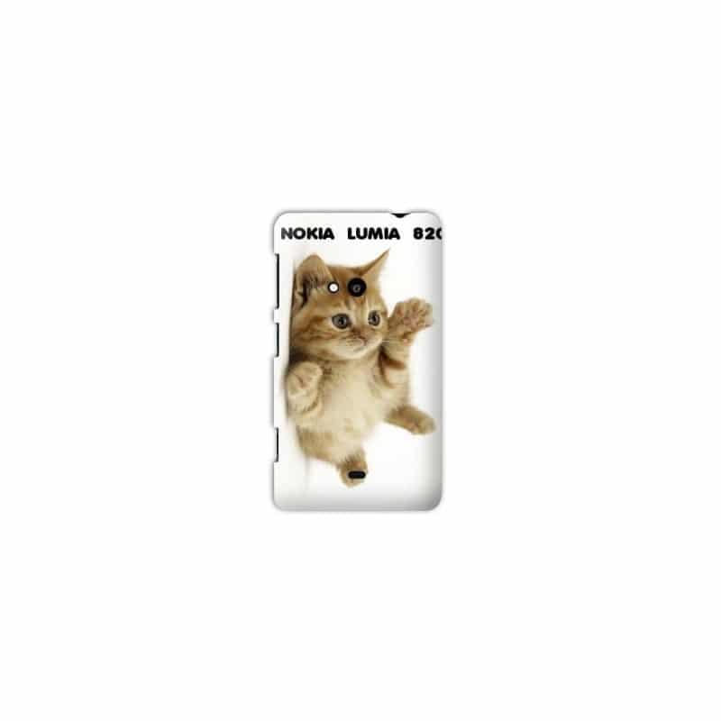 Coque personnalisée pour Nokia Lumia 820 à l'aide d'une photo