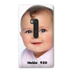 Coque personnalisée pour Nokia Lumia 920 à l'aide d'une photo