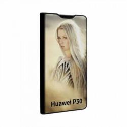 Etui rabattable portefeuille personnalisé pour Huawei P30 à l'aide d'une photo