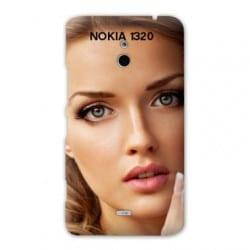 Coque personnalisée pour Nokia Lumia 1320 à l'aide d'une photo