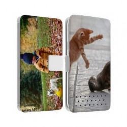 Etui rabattable portefeuille personnalisé pour Samsung Galaxy A50