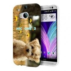 Coque personnalisée pour HTC One 2 à l'aide d'une photo
