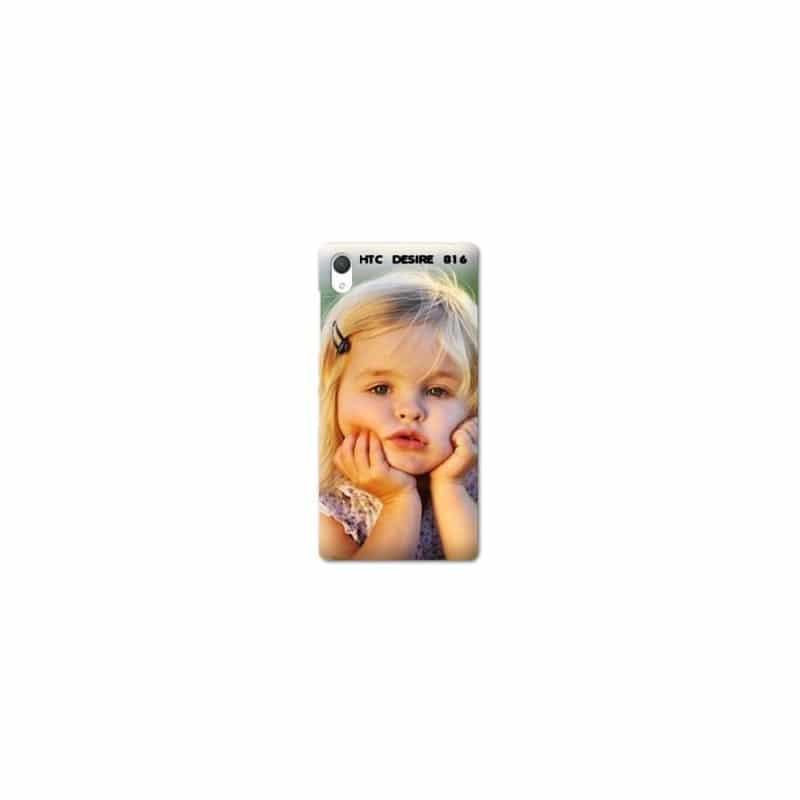 Coque personnalisée pour HTC Desire 816 à l'aide d'une photo