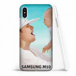 Coques souples PERSONNALISEES Samsung Galaxy M10