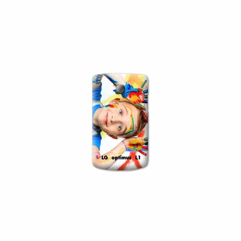Coque personnalisée pour LG Optimus L1 II à l'aide d'une photo