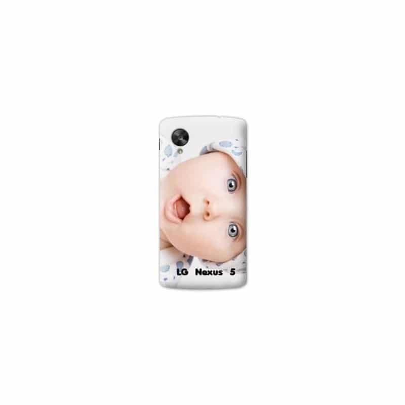 Coque personnalisée pour LG Nexus 5 à l'aide d'une photo