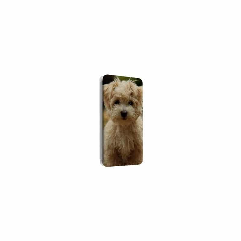 Etui cuir Portefeuille personnalisé pour Samsung Galaxy S1 à l'aide d'une photo