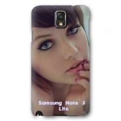 Etui rabattable portefeuille personnalisé pour Samsung Galaxy Note 3 lite à l'aide d'une photo