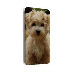 Etui rabattable portefeuille personnalisé pour Samsung Galaxy Note 4 à l'aide d'une photo