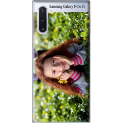 Coques souples PERSONNALISEES samsung galaxy Note10