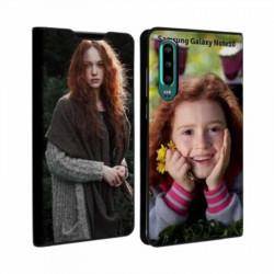 Etui rabattable personnalisé recto verso pour Samsung Galaxy Note 10