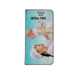 Etui personnalisé pour Wiko Y80