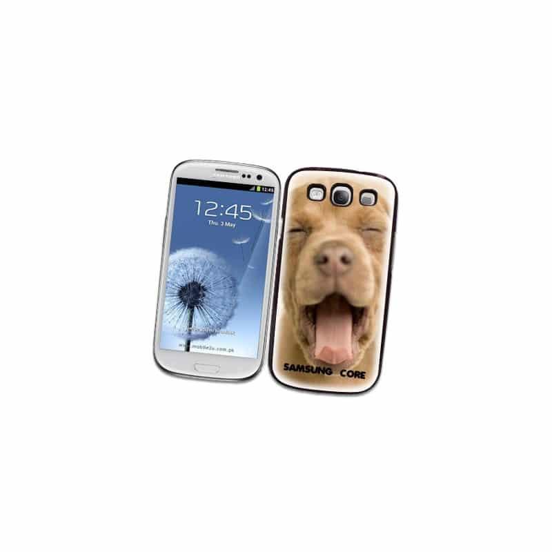 Coque personnalisée pour Samsung Galaxy Core Plus SM-G350 à l'aide d'une photo