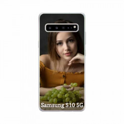 Coques souples PERSONNALISEES Samsung Galaxy S10 5g