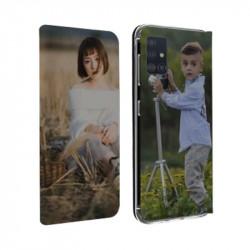 Etui rabattable portefeuille personnalisé pour Samsung Galaxy A71