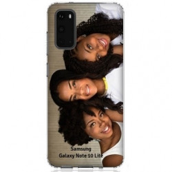 Coques souples PERSONNALISEES Samsung Galaxy Note10 Lite