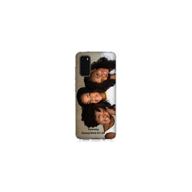Coques souples PERSONNALISEES Samsung Galaxy Note 10 lite